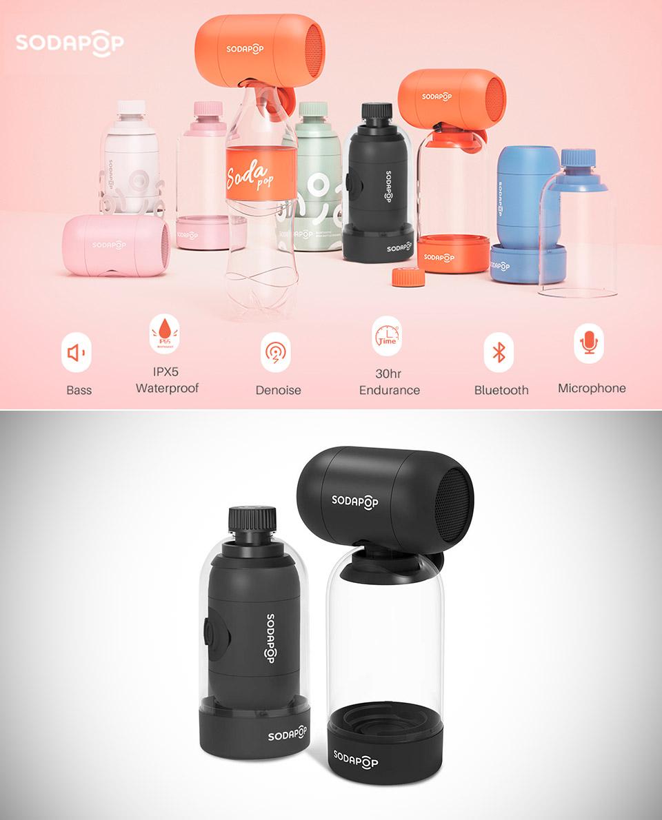 Sodapop Bluetooth Speaker