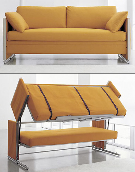 Pleasing Transforming Sofa Turns Into A Bunk Bed Techeblog Unemploymentrelief Wooden Chair Designs For Living Room Unemploymentrelieforg