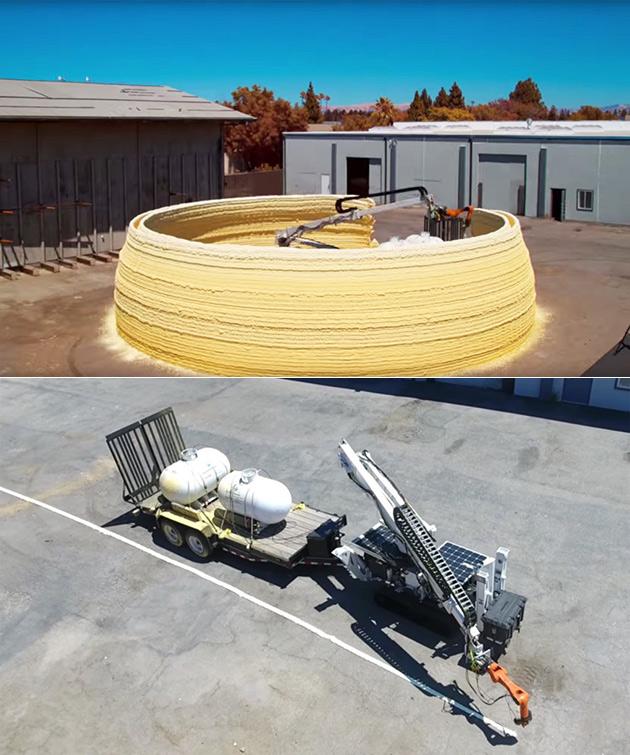 Solar 3D Printer