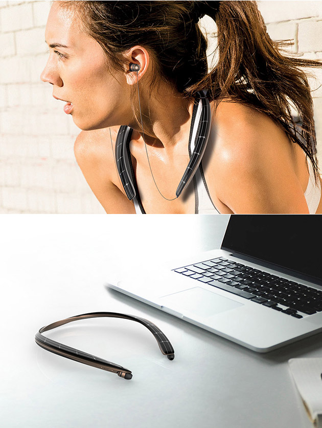 Solar Bluetooth Headphones