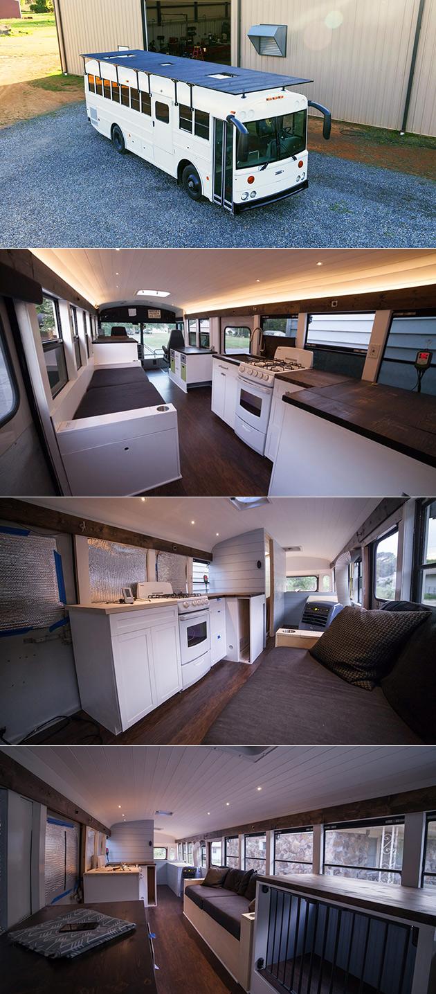 Solar Bus Home