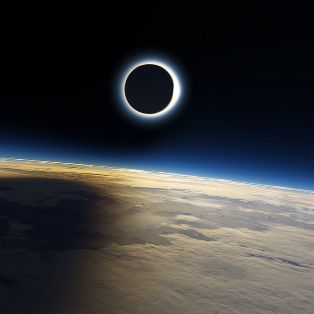 Solar Eclipse 4K