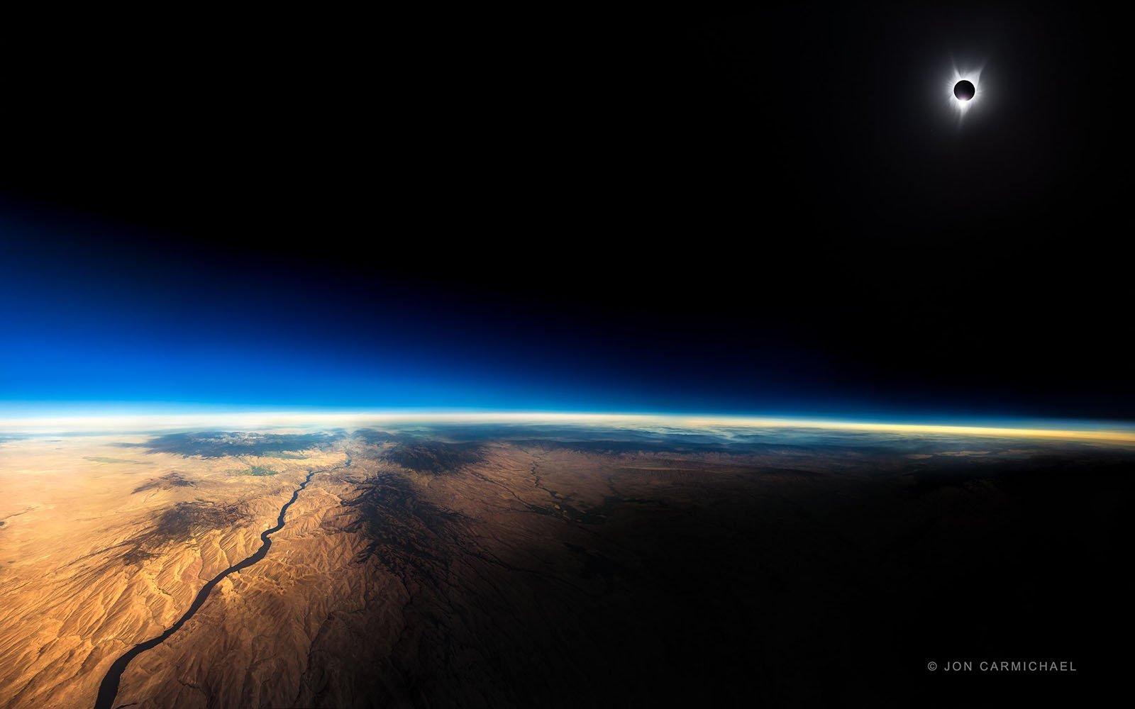 Solar Eclipse Plane