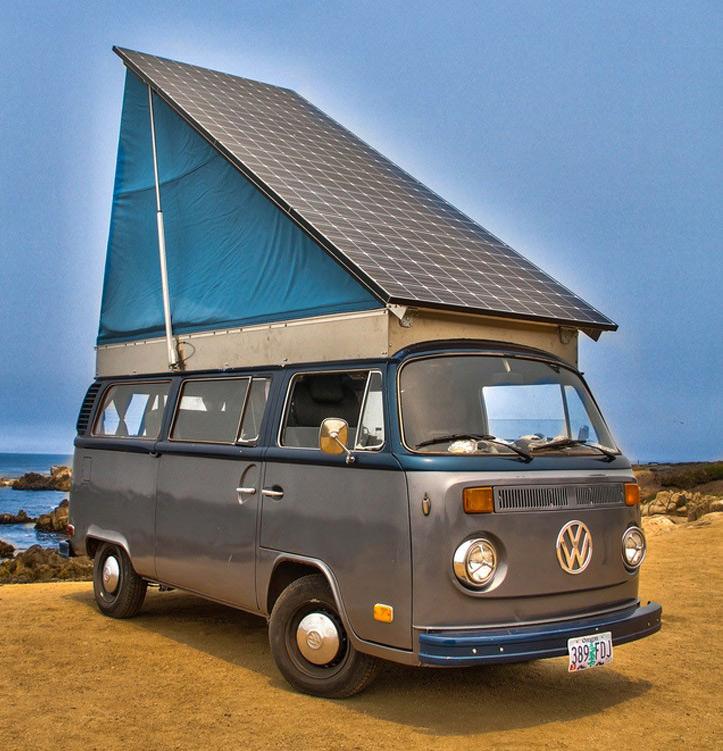 Solar Electric Volkswagen Bus