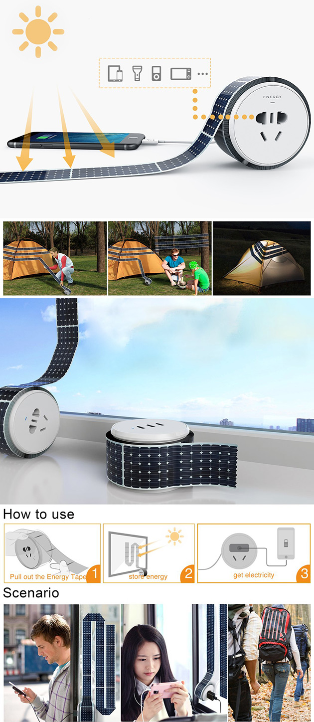 Solar Energy Strip