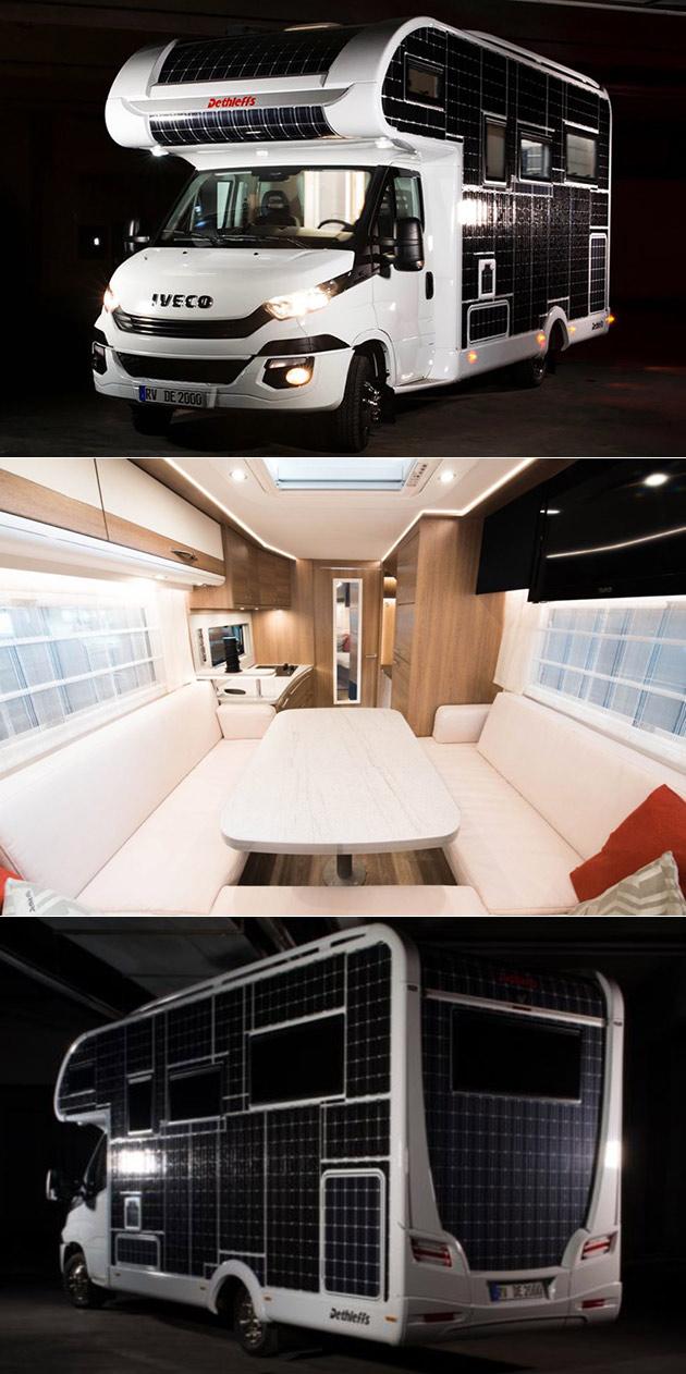 Solar Motor Home