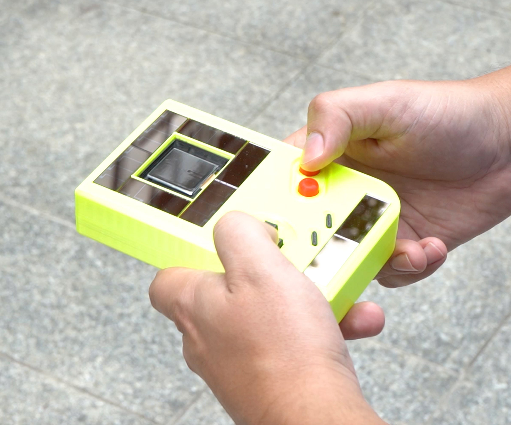 Solar-Powered Game Boy