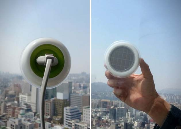 Solar-Powered Outlet