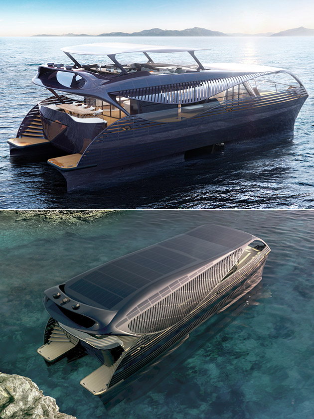SolarImpulse Solar Yacht