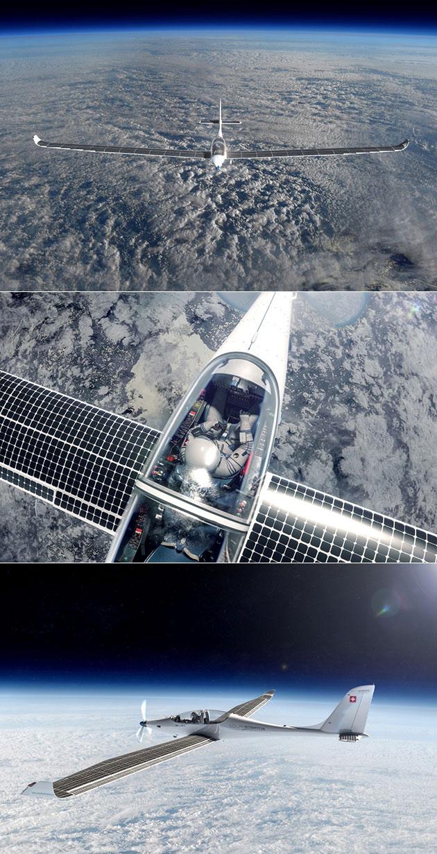 SolarStratos é um movido a energia Solar do Avião Pode Voar para a Borda do Espaço Sem Usar uma Gota de Combustível