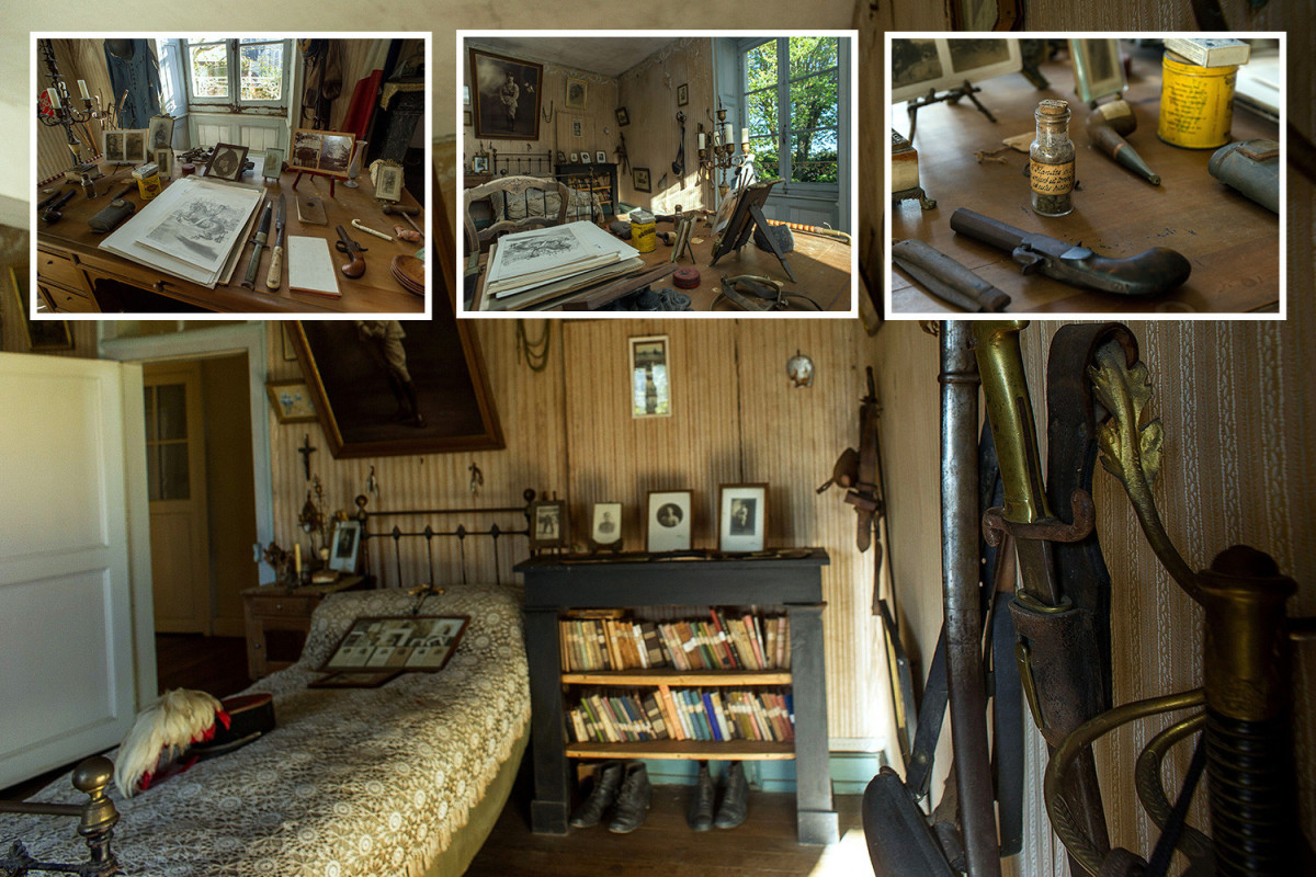 Soldier Bedroom Untouched WW1