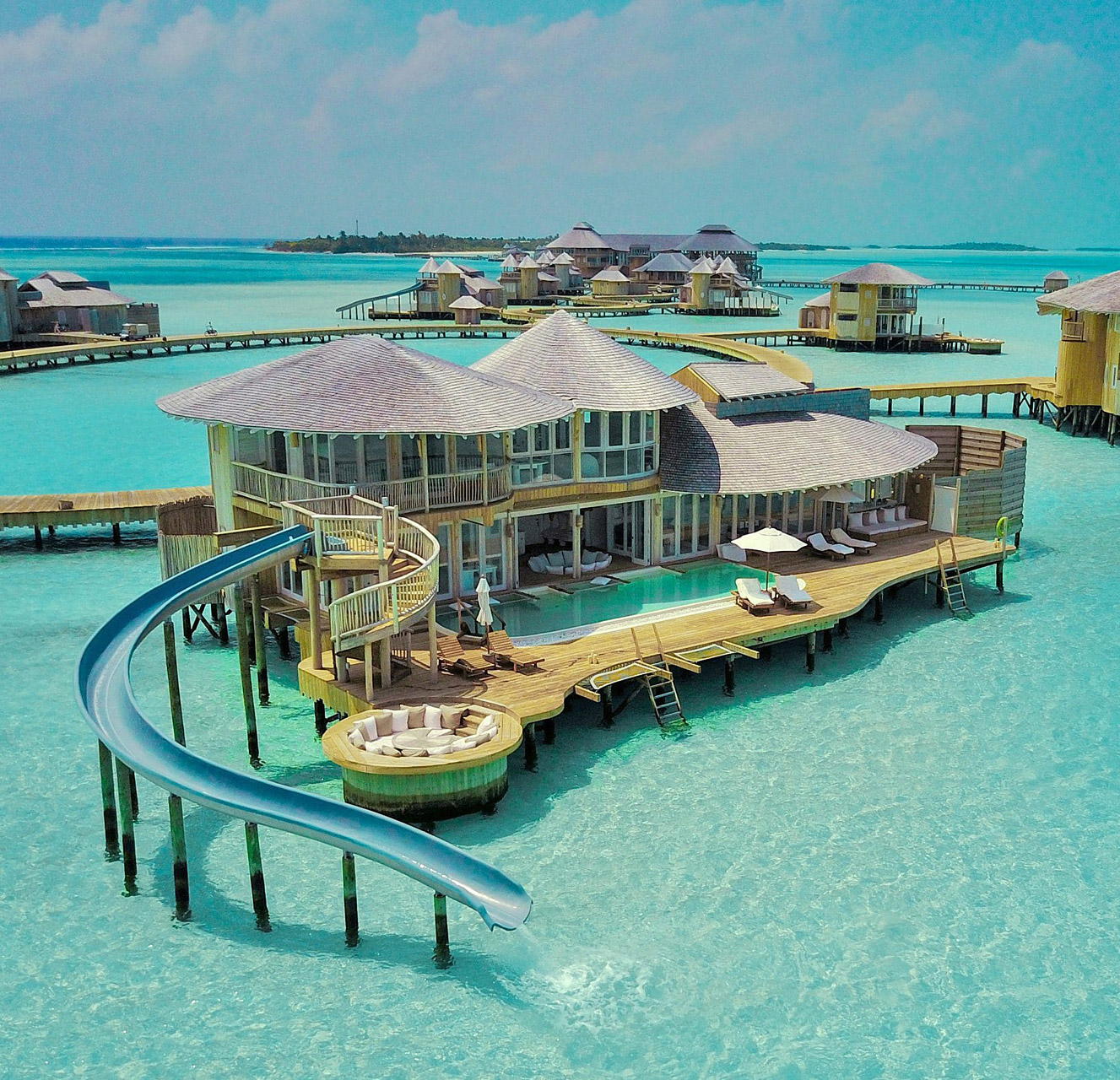 Soneva Jani Resort Over Water Villas Slides