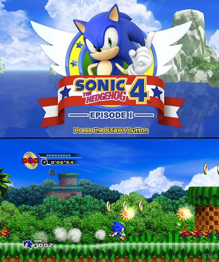 Leaked Sonic The Hedgehog 4 Gameplay Techeblog