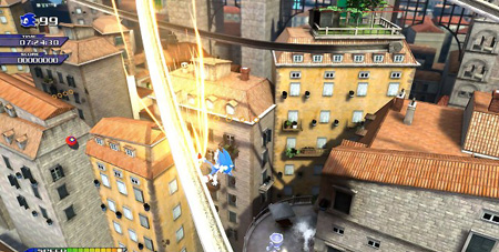 Sonic Unleashed Gameplay