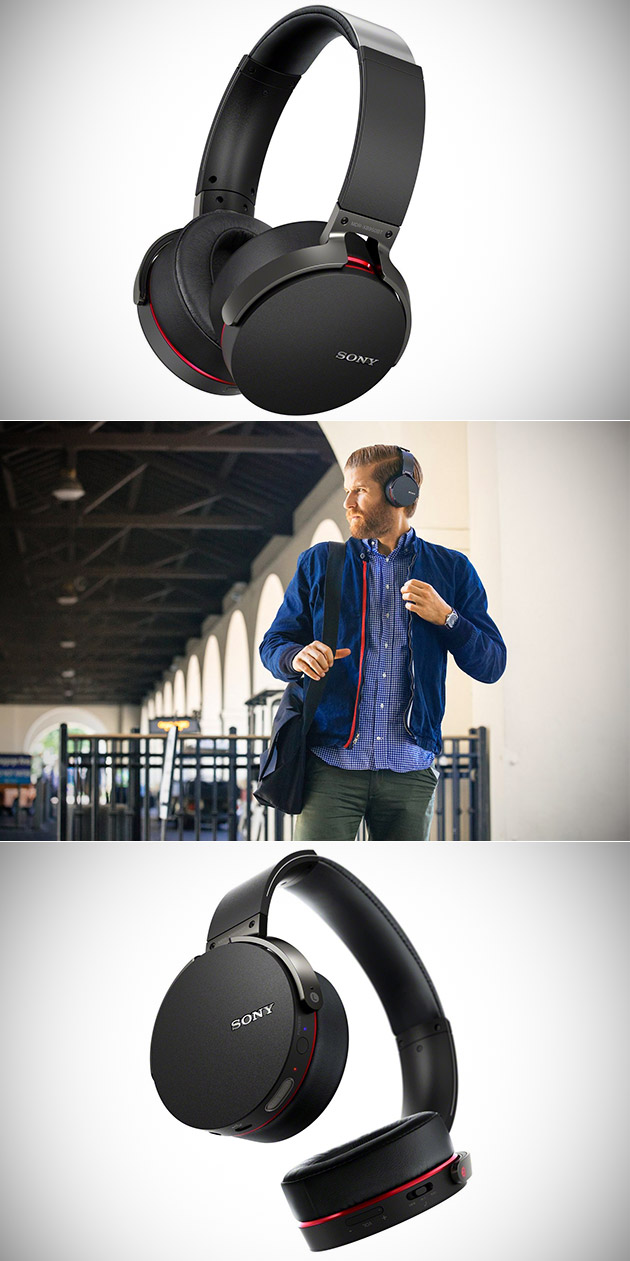 Sony Extra Bass Wireless Bluetooth Headphones