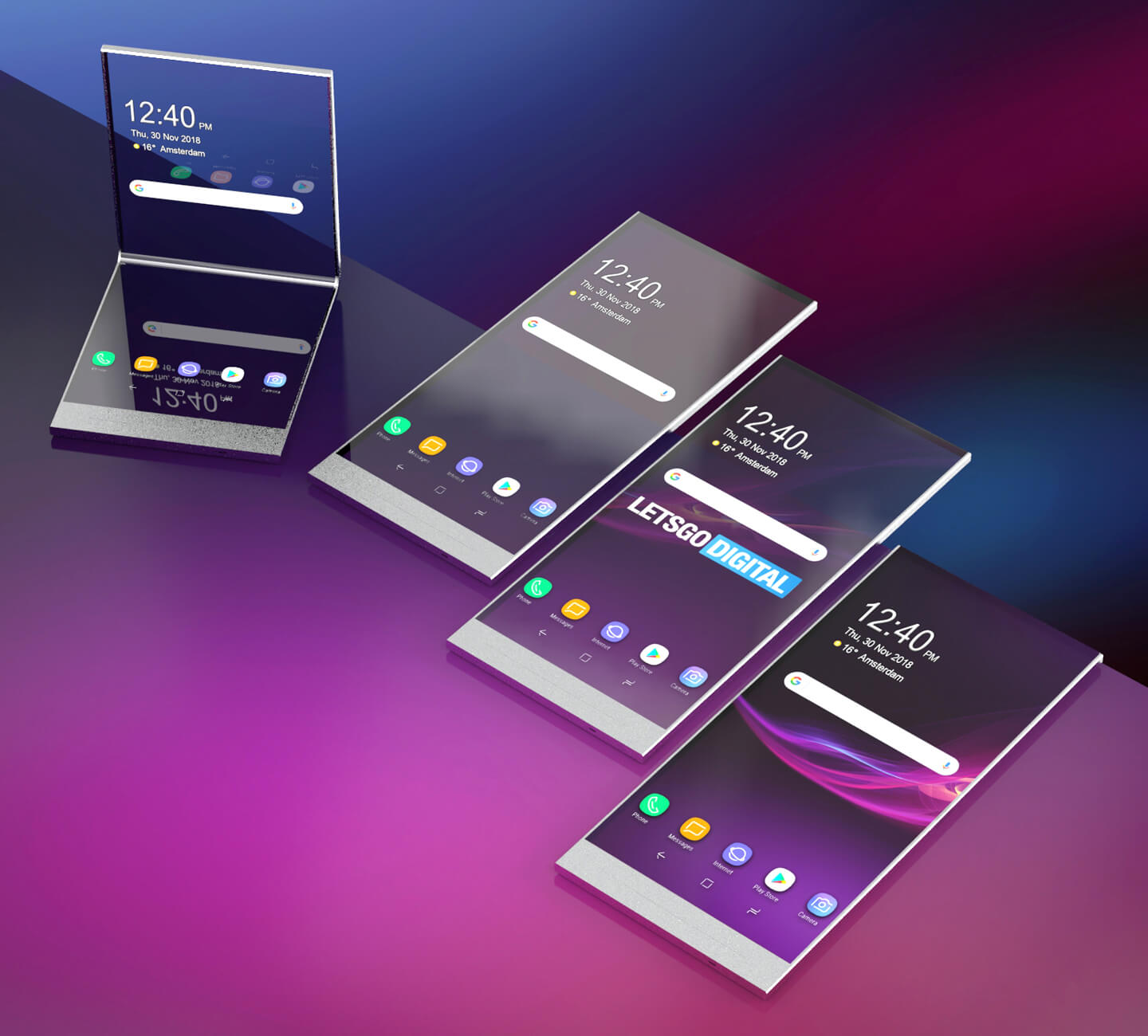 Sony Foldable Xperia Smartphone
