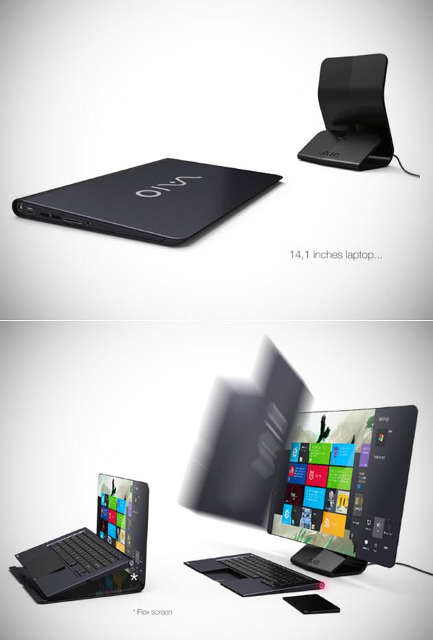 Sony Hybrid Laptop