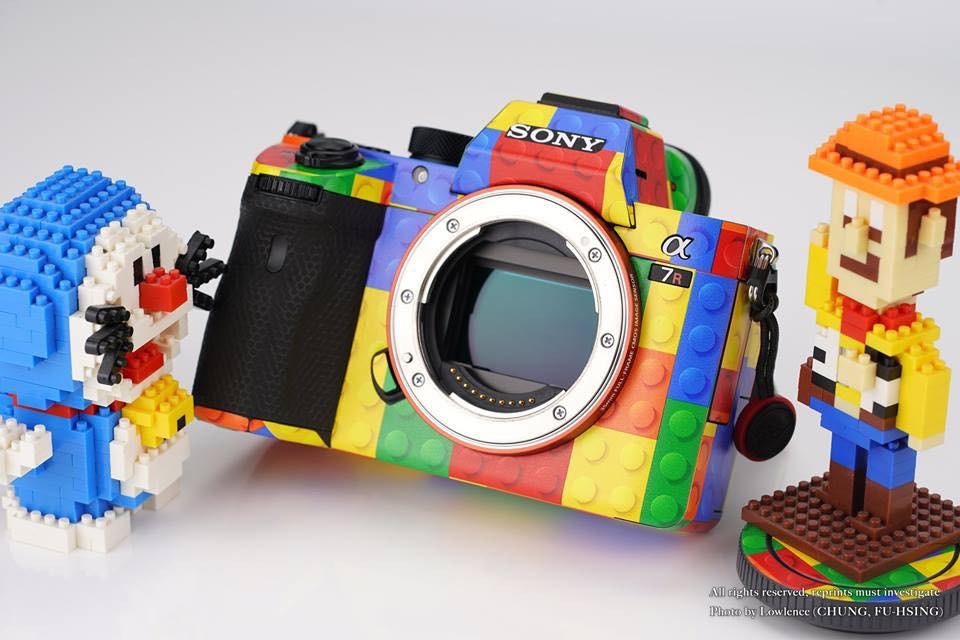 Sony Mirrorless Camera LEGO Skin