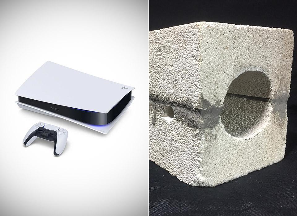 Sony PlayStation 5 Concrete Brick