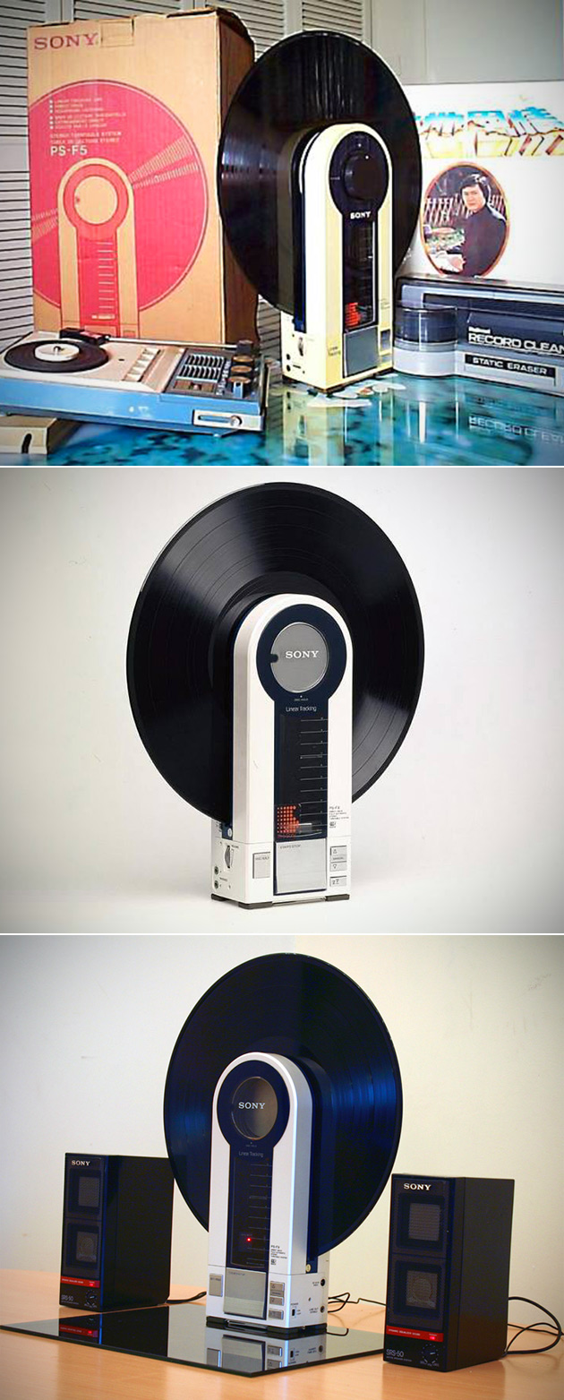 Sony Portable Record Player