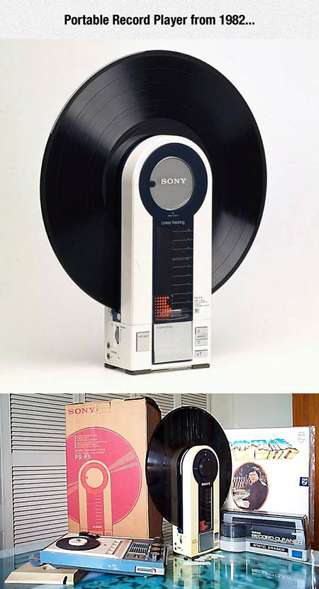 Sony PS-F5 Portable Record Player