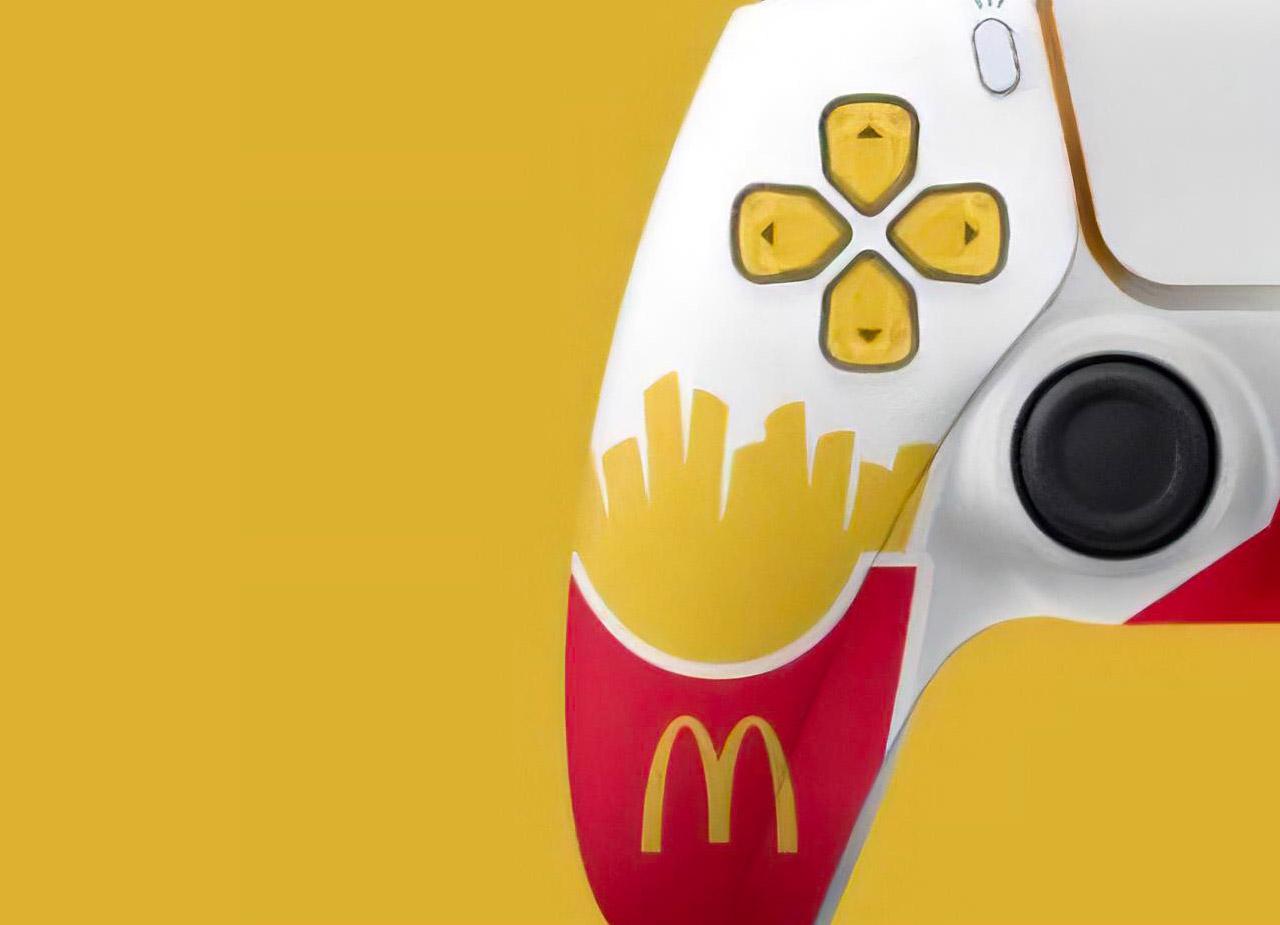 Sony PS5 McDonald's Controller Australia