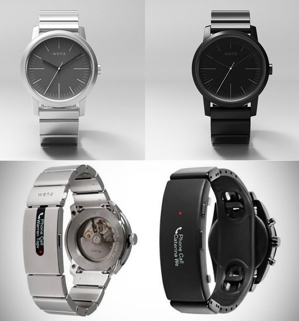 Sony Wena Wrist Pro Active Smartwatch