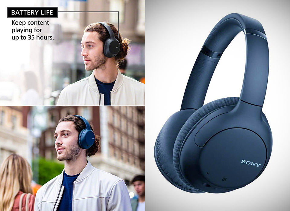 Sony WHCH710N Wireless Noise Cancelling Headphones