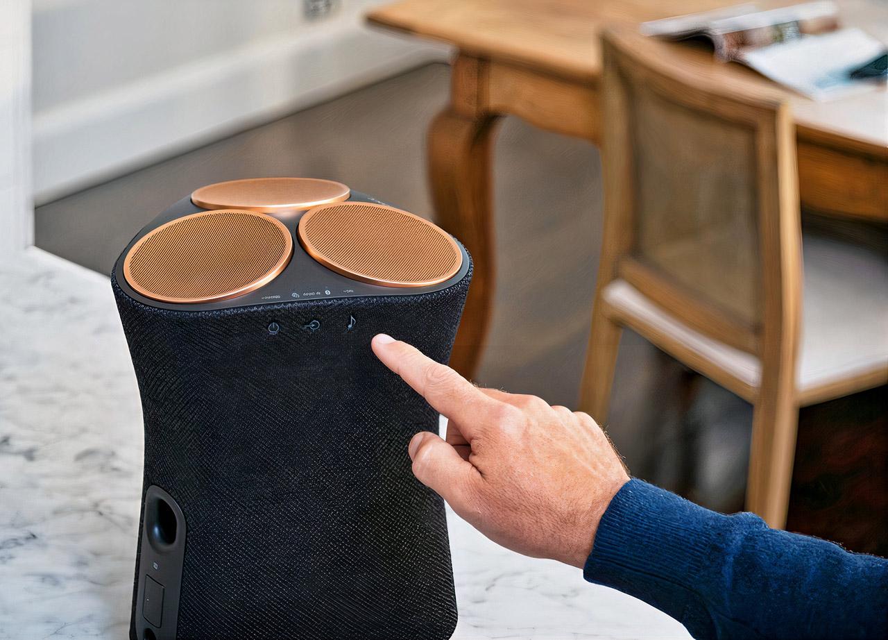 Sony Wireless 360-Degree Audio Speakers