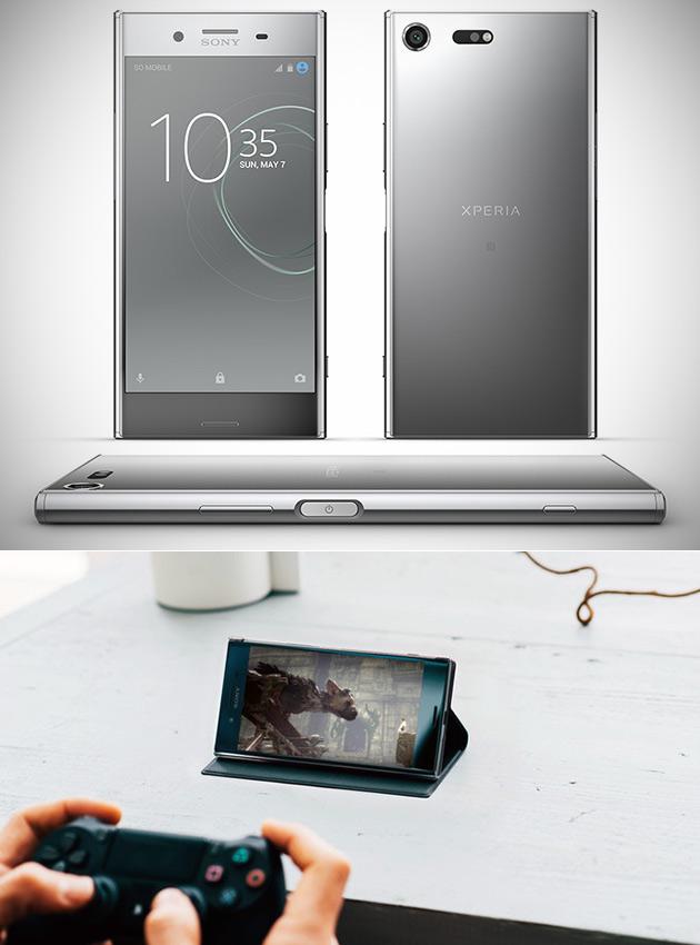 Sony Xperia XZ Premium est un 4K Smartphone Propulsé par un processeur Snapdragon 835 CPU, A 19MP Caméra Qui tire 960FPS Vidéo