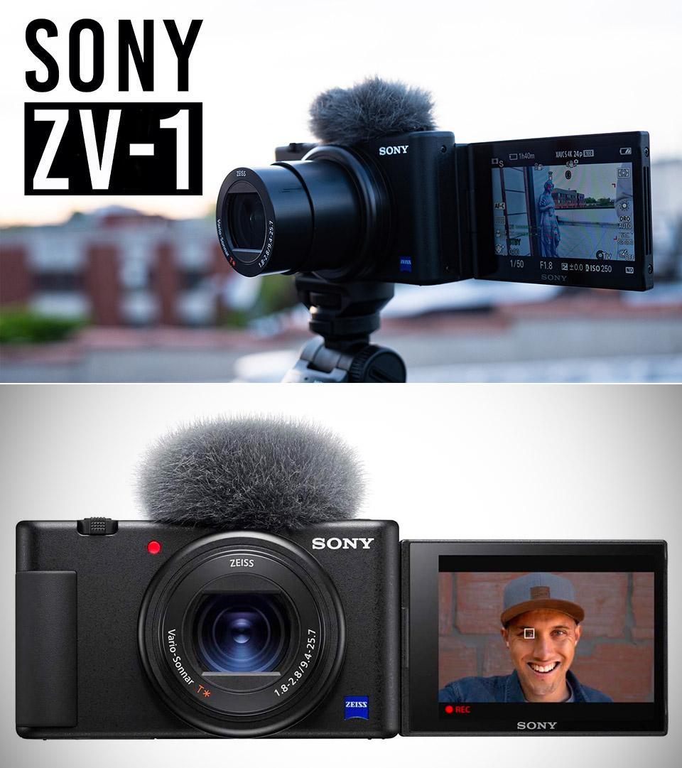 Sony ZV-1 Vlog Point and Shoot camera