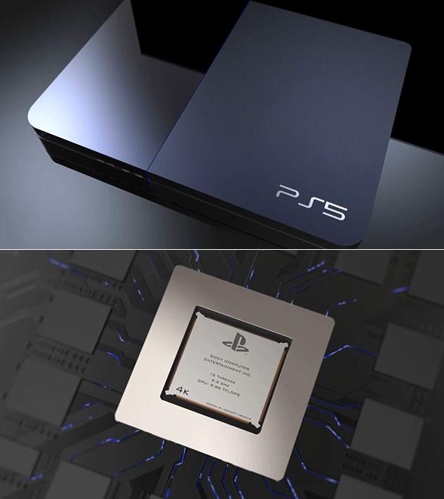 Sony PS5 est Rendu, Comprend 16-Fil Chipset avec 9.86-Téraflops de Puissance
