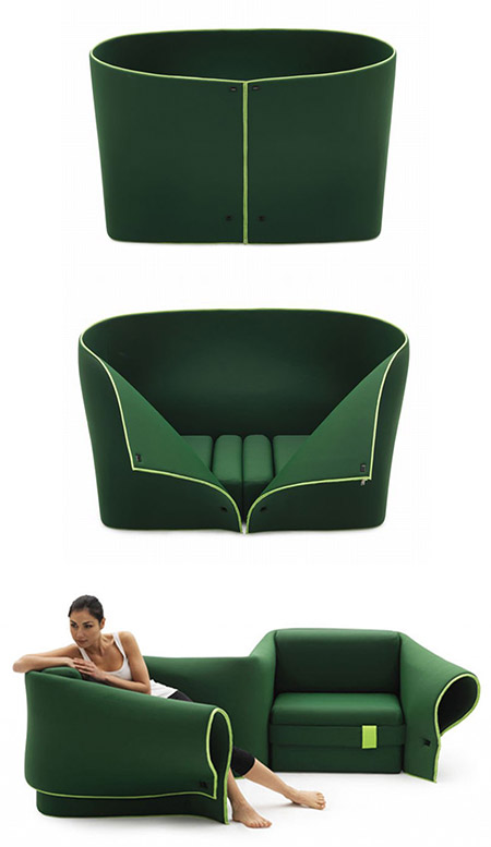 SOSIA Sofa: The Worldu0027s First Transforming Convertible Sofa. Designed By Emanuele  Magini ...