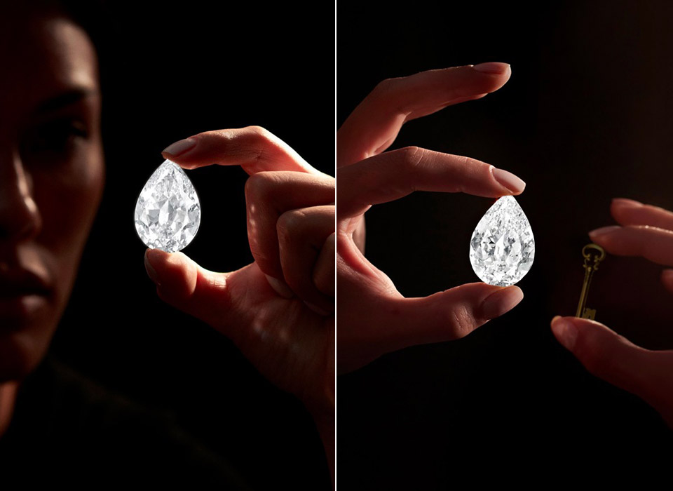 Sotheby's Cryptocurrency 101-Carat Diamond Auction