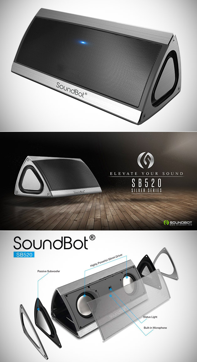 SoundBot SB520 Wireless Speaker