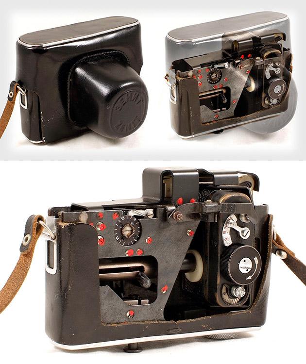 Soviet Spy Camera in Camera