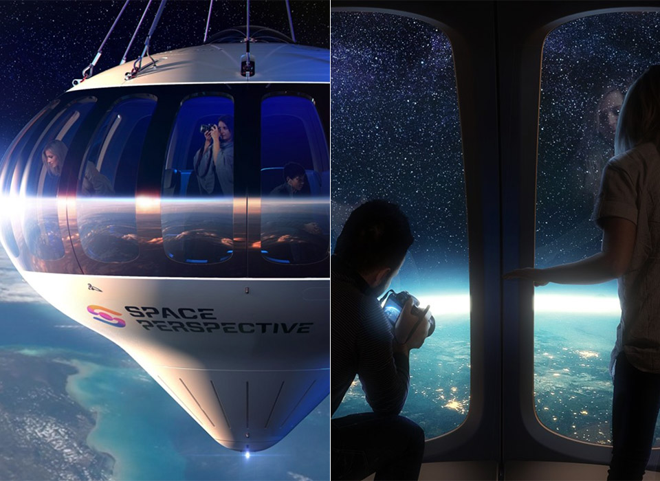 Space Perspective Luxury Spaceflight Neptune Capsule