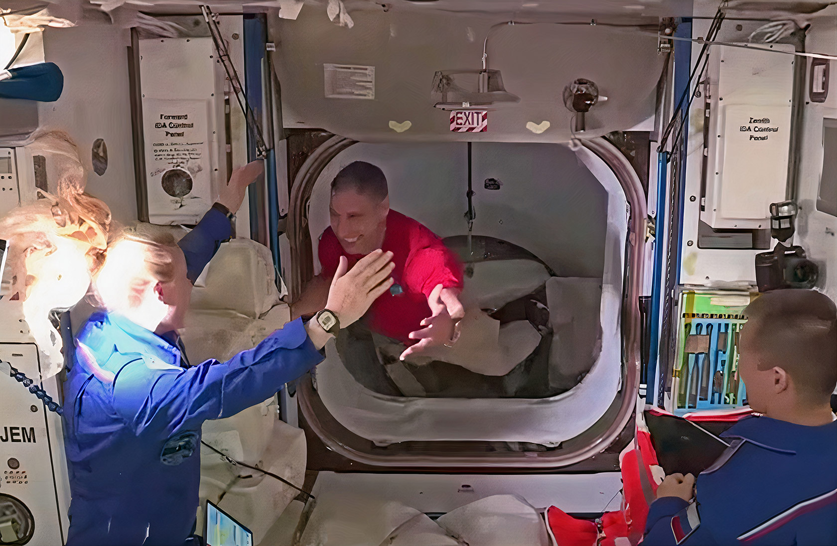 SpaceX Crew Dragon Resilience ISS Dock