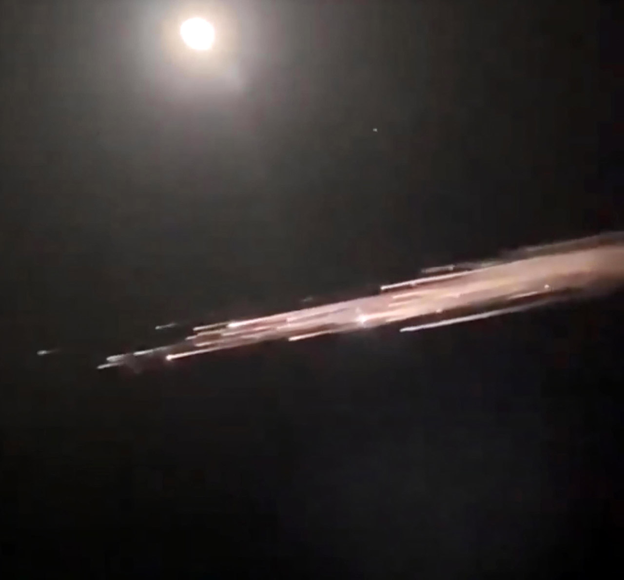 SpaceX Falcon 9 Rocket Debris Pacific Northwest