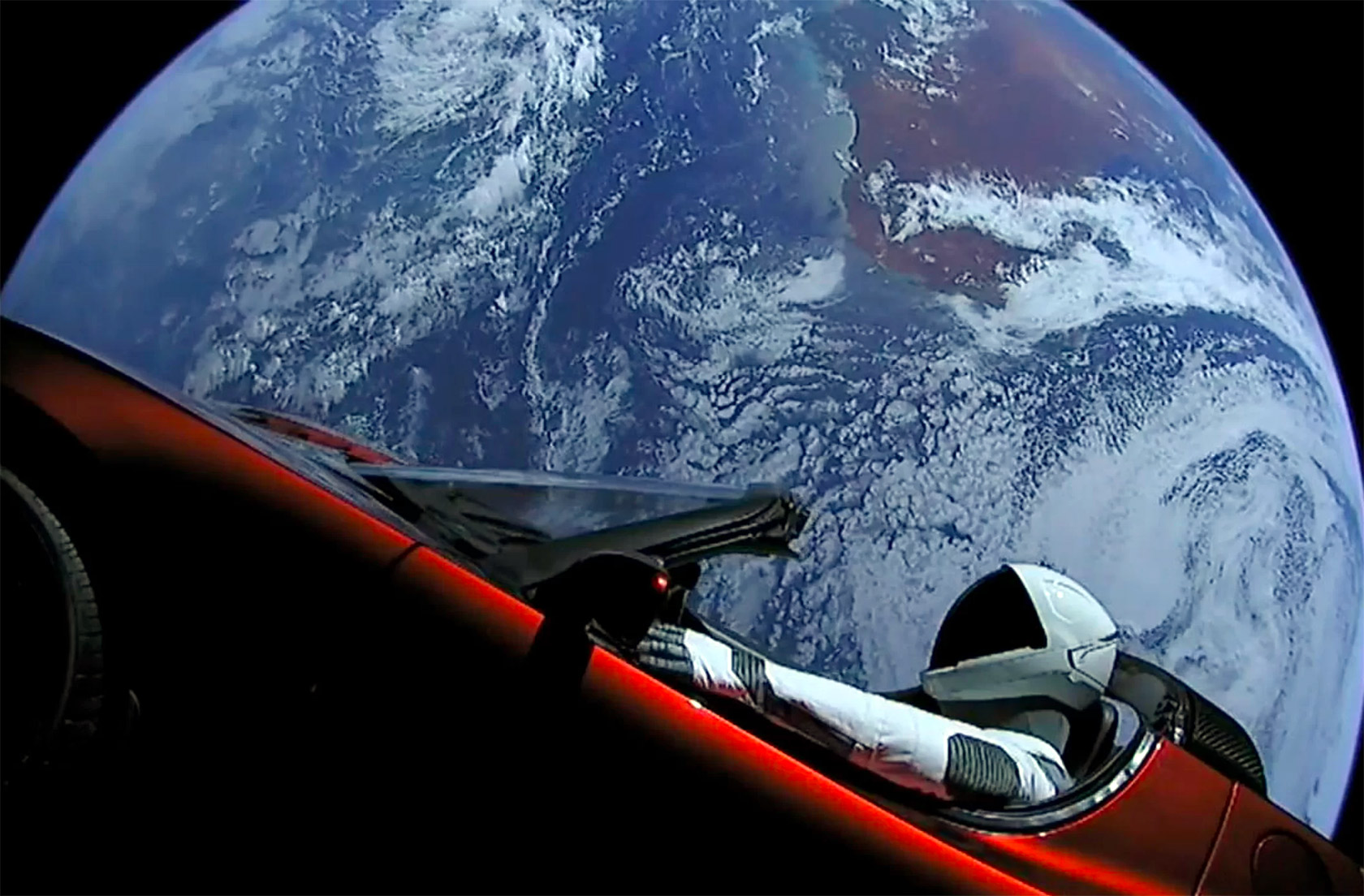 SpaceX Falcon Heavy Elon Musk Tesla Roadster