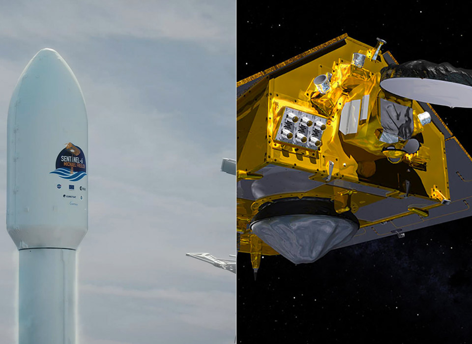 SpaceX Falcon 9 NASA Satellite Sea Level Rise