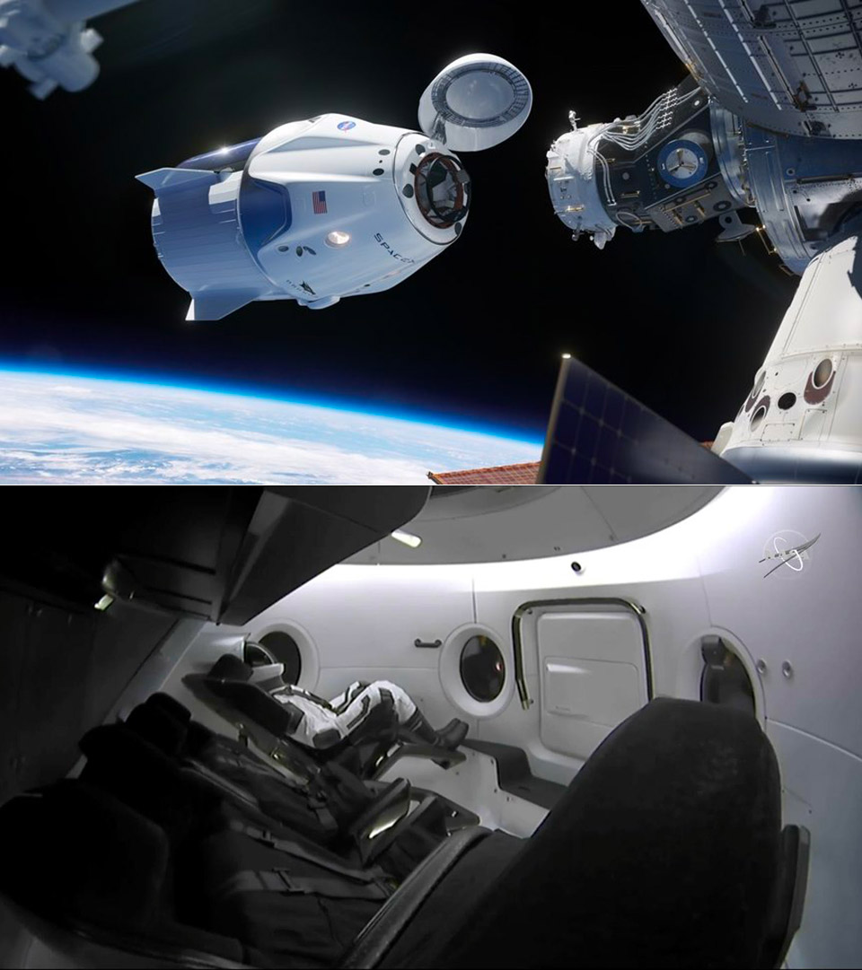 SpaceX ISS Tourists