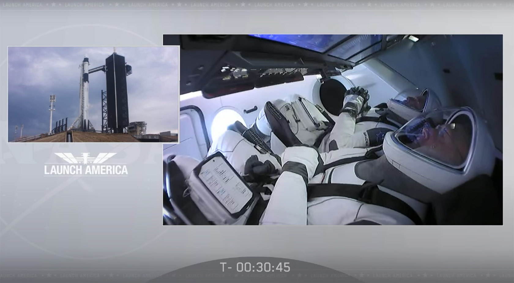 SpaceX NASA Crew Dragon Launch