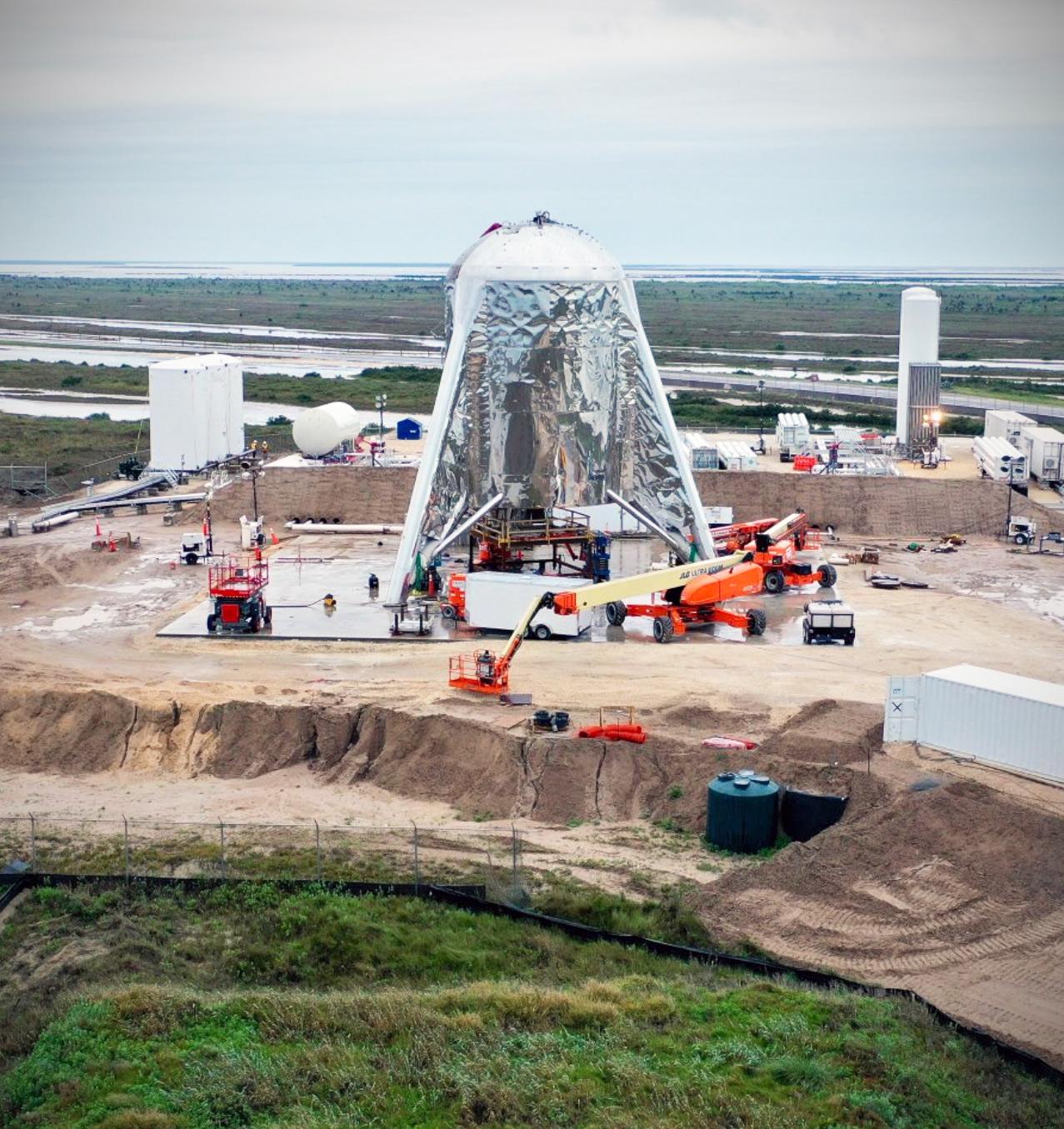 SpaceX Raptor Starhopper Engine