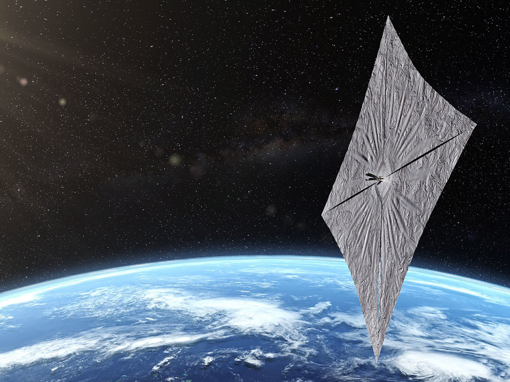 SpaceX Solar Sail