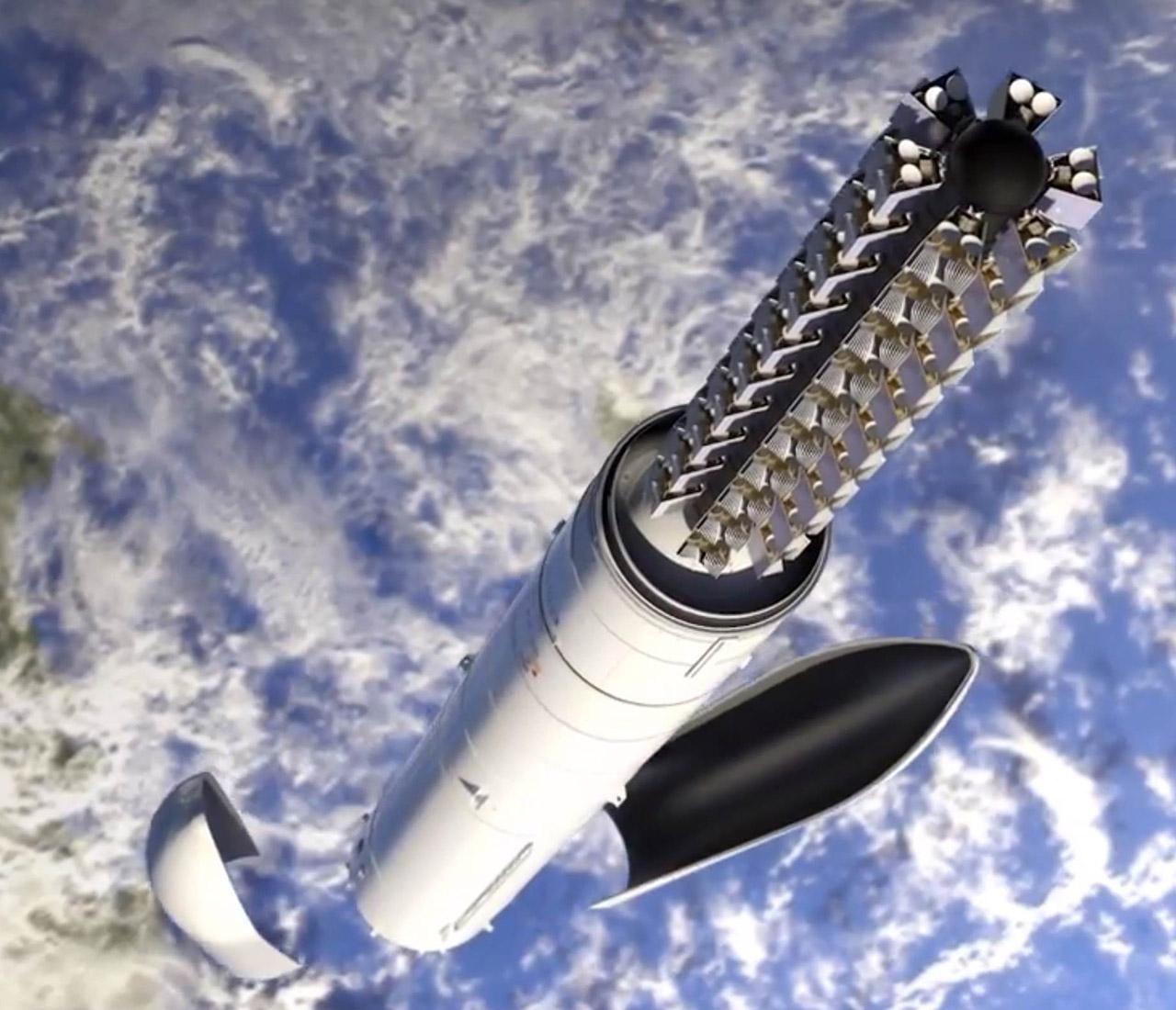 SpaceX Starlink Satellite 60 Orbit