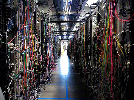 Computer Room Cable Management