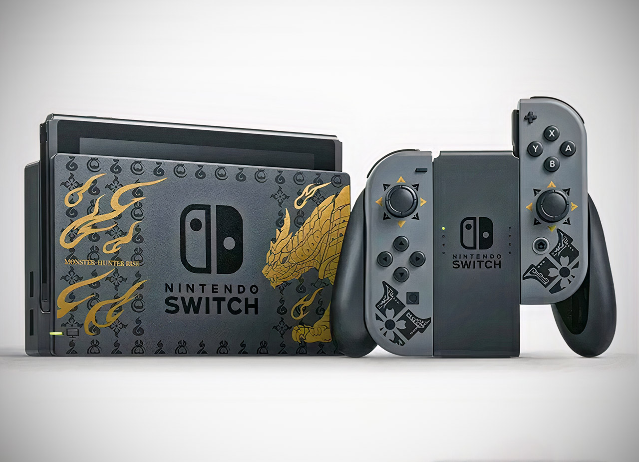 Special Edition Nintendo Switch Monster Hunter Rise Console