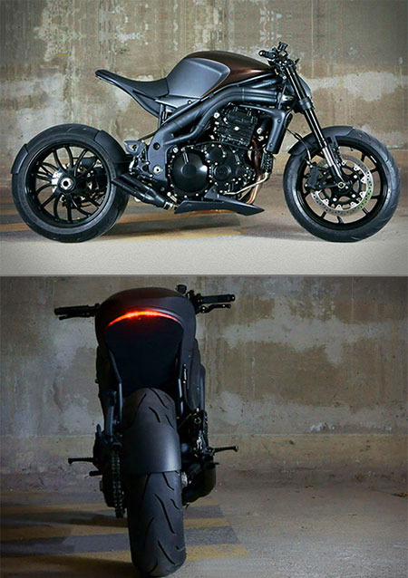 Triumph Speed Racer Might Be Coolest Looking Motorcycle