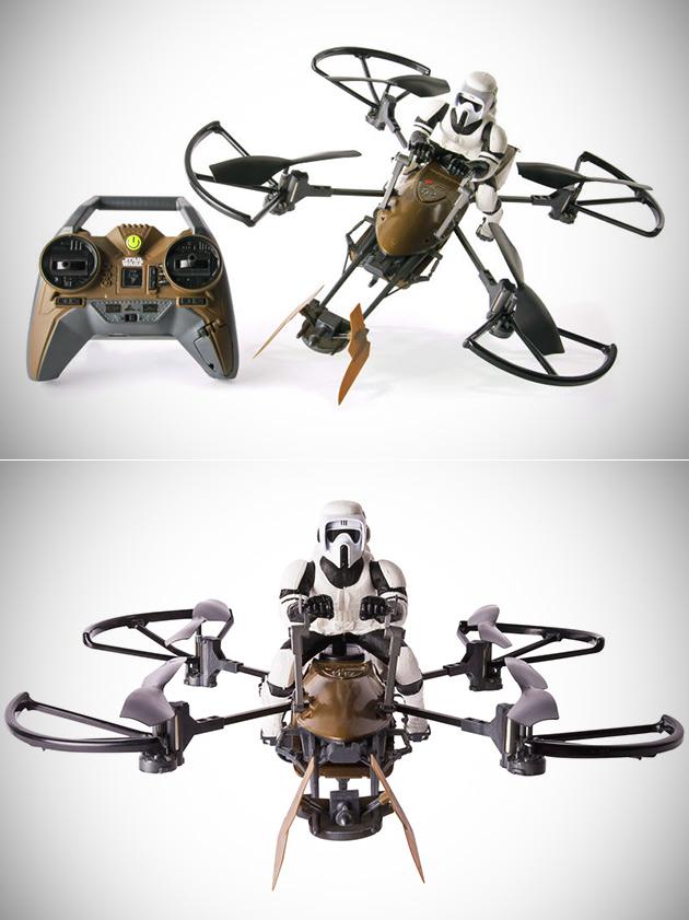 Speeder Bike Drone
